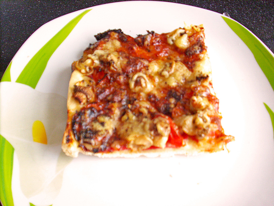 Foto der Schale Pizza Mamma Mia