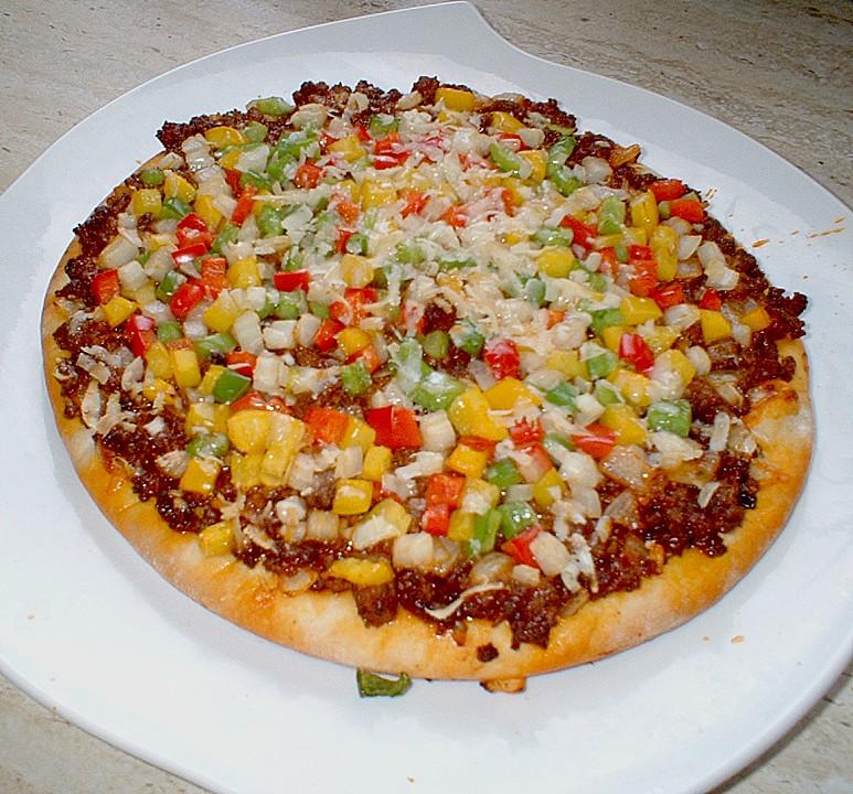 Foto der Schale Pizza Bologna
