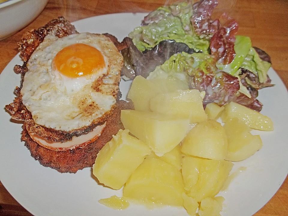 Foto der Schale Holsteiner Schnitzel