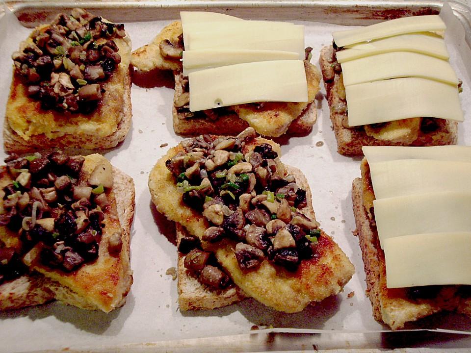 Foto der Schale Schnitzel-Toast