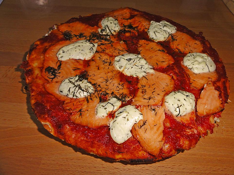 Foto der Schale Pizza Alaska