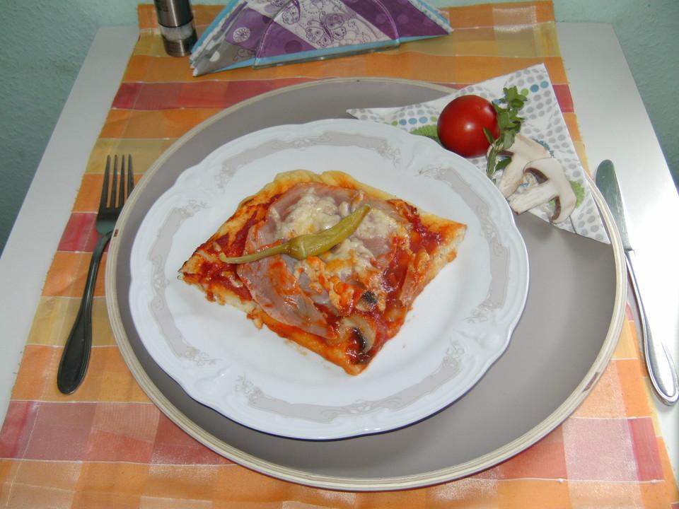 Foto der Schale Pizza Stagioni