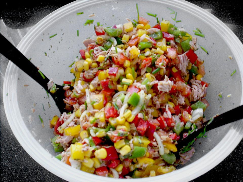 Foto der Schale Mexikanischer Salat