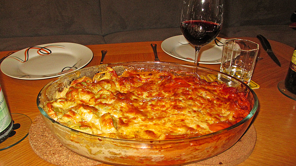 Foto der Schale Tris di Pasta