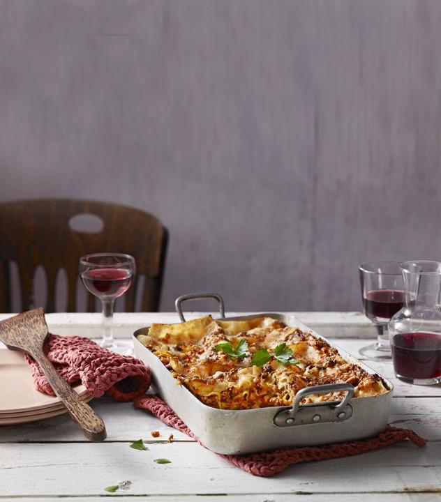 Foto der Schale Lasagne al Forno