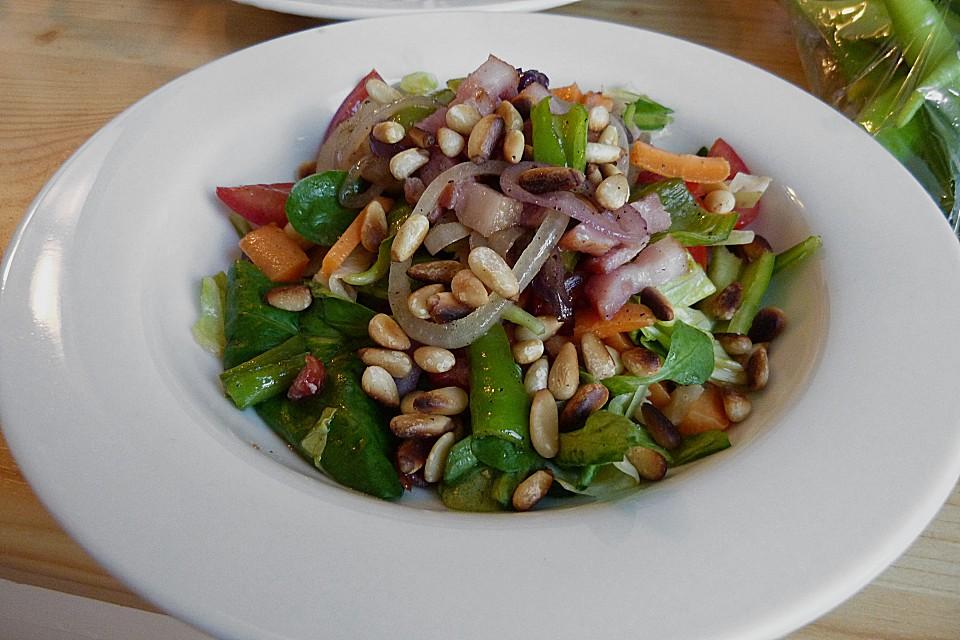 Foto der Schale Gemischter Salat