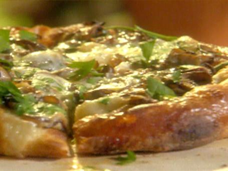 Pizza Funghi-Prosciutto