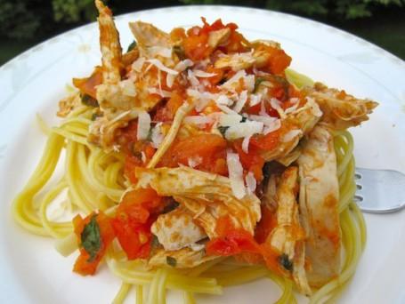 Spaghetti Pollo